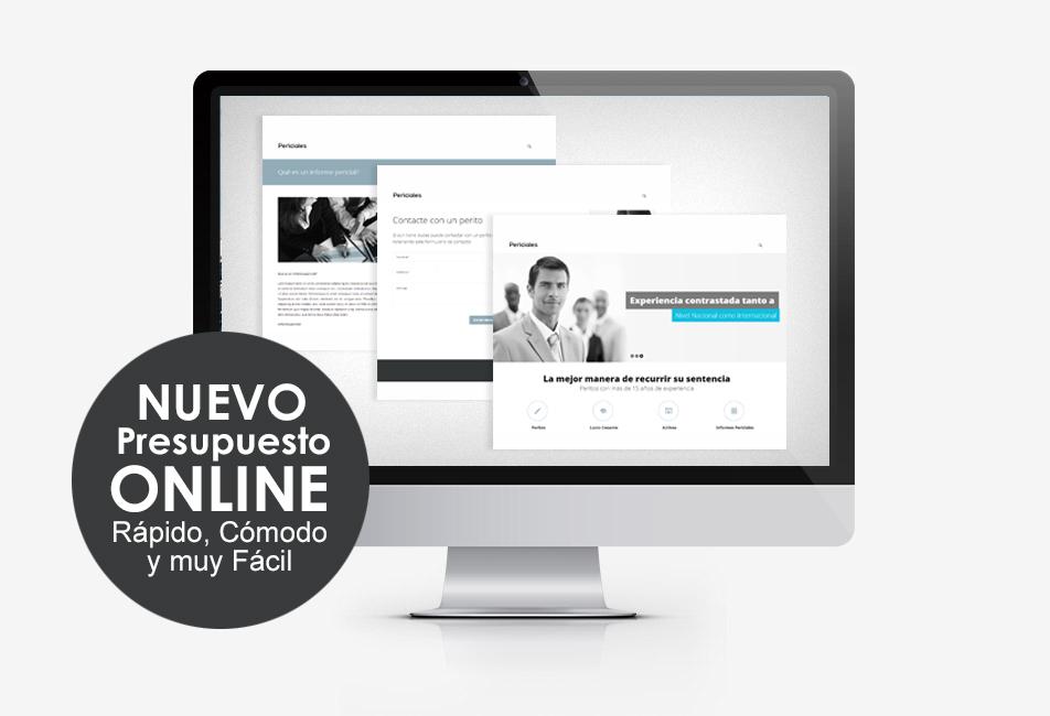 Si necesita contratar un perito nuestro formulario online es fácil y rápido